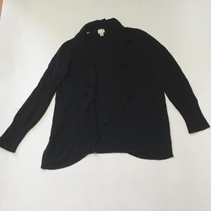 A New Day Black Long Sleeve Cardigan